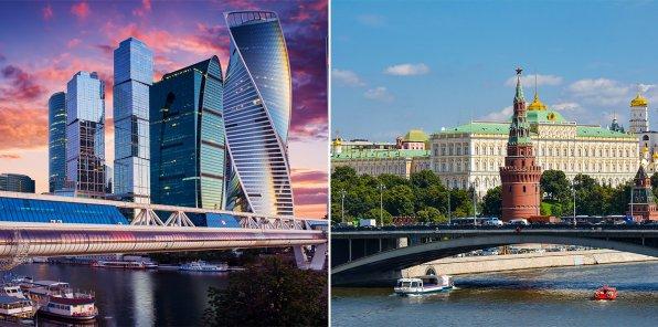 -73% на прогулку на теплоходе + Москва-Сити