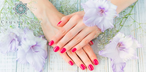 -65% на ногтевой сервис в студии красоты Crystal Bar