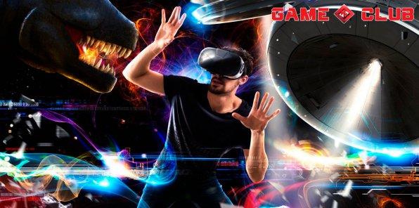 -50% на виртуальные игры в VR Game Club