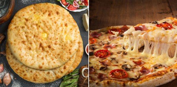 -60% на осетинские пироги и пиццу