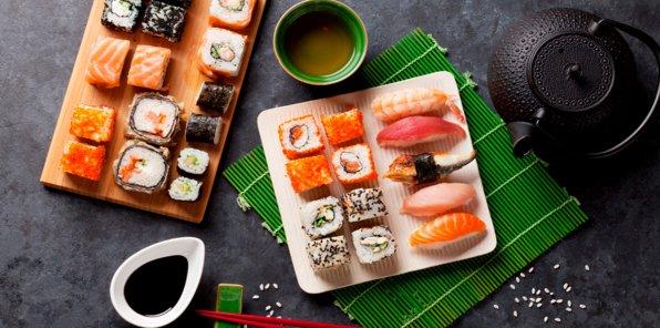 -40% на меню и напитки от суши-бара RealSushi