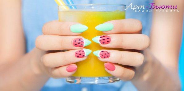 -72% на услуги для ногтей в салоне «Арт-Бьюти»